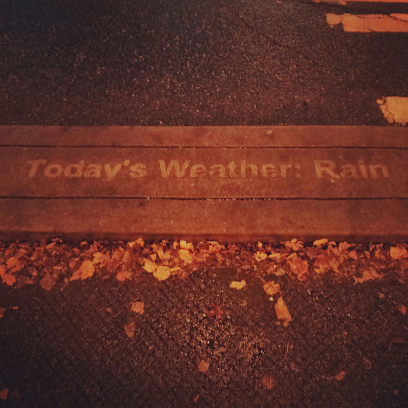 sidewalk art only appears when it rains peregrine church rainworks (5)
