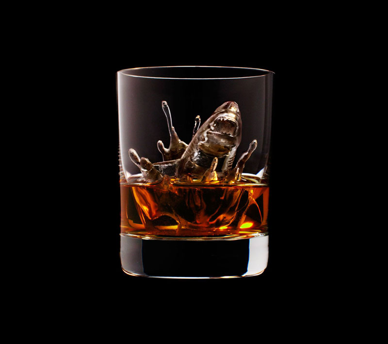 suntory whisky tbwa hakuhodo cnc milled ice cubes 3d (10)
