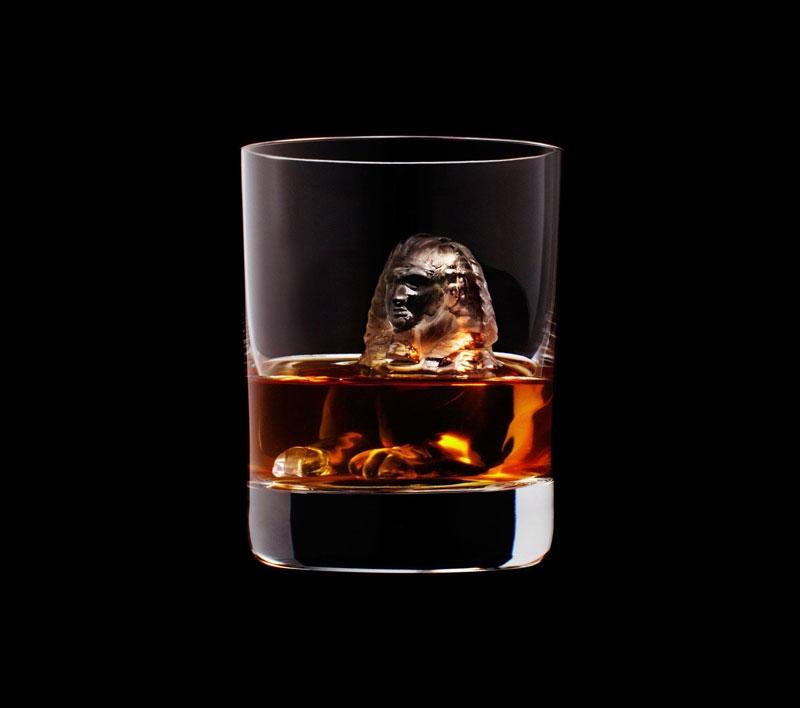 suntory whisky tbwa hakuhodo cnc milled ice cubes 3d (13)
