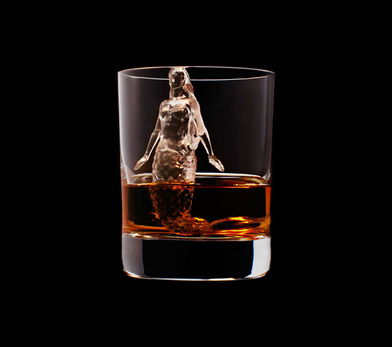 suntory whisky tbwa hakuhodo cnc milled ice cubes 3d (17)
