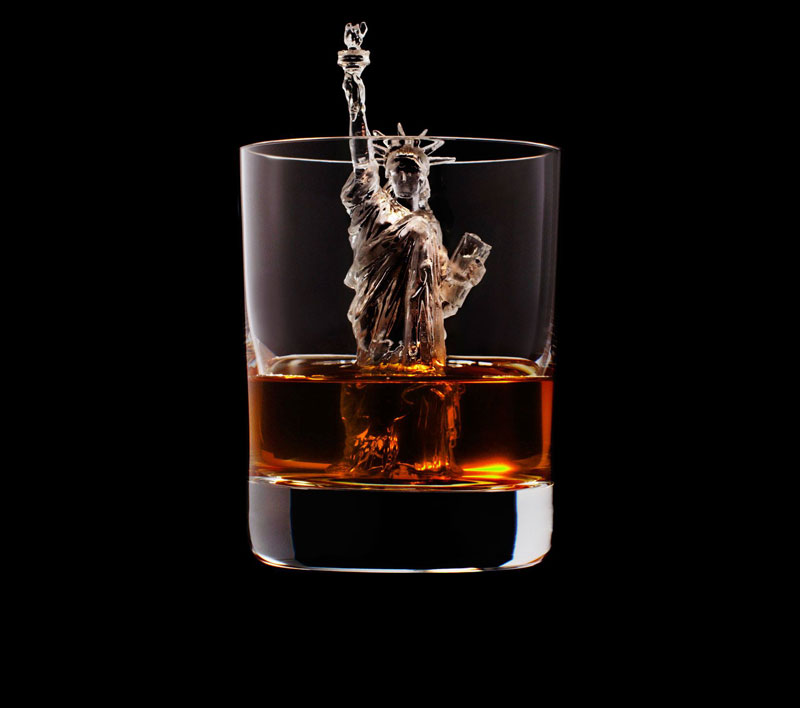 suntory whisky tbwa hakuhodo cnc milled ice cubes 3d (18)