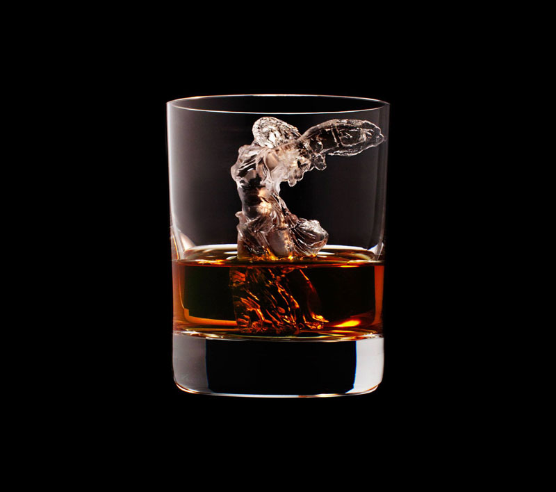 suntory whisky tbwa hakuhodo cnc milled ice cubes 3d (19)