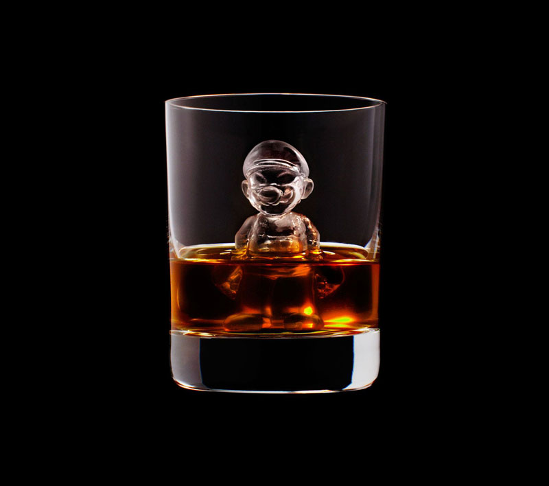 suntory whisky tbwa hakuhodo cnc milled ice cubes 3d (2)