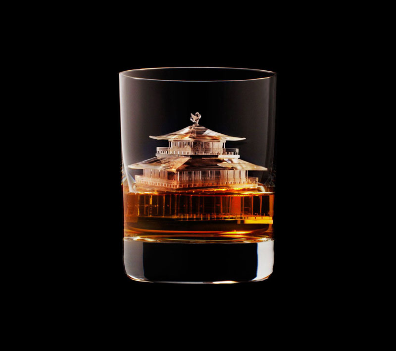 suntory whisky tbwa hakuhodo cnc milled ice cubes 3d (22)