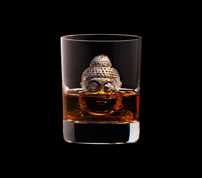 suntory whisky tbwa hakuhodo cnc milled ice cubes 3d (24)