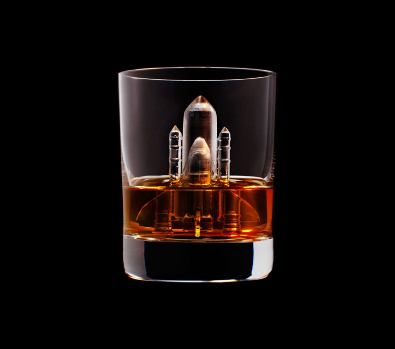 suntory whisky tbwa hakuhodo cnc milled ice cubes 3d (6)