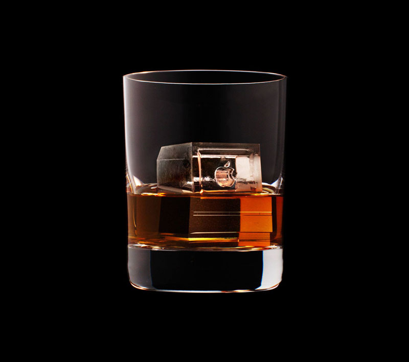 suntory whisky tbwa hakuhodo cnc milled ice cubes 3d (8)
