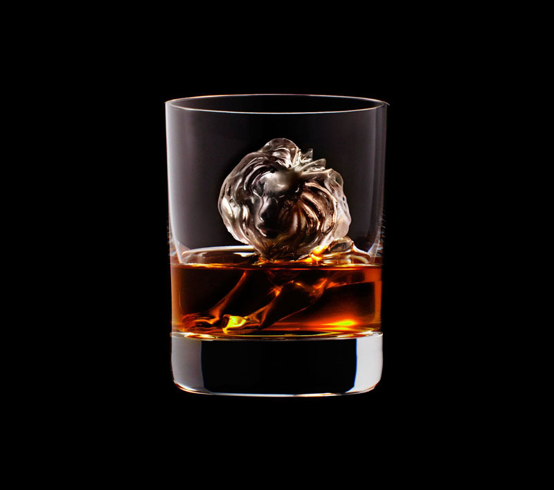 suntory whisky tbwa hakuhodo cnc milled ice cubes 3d (9)