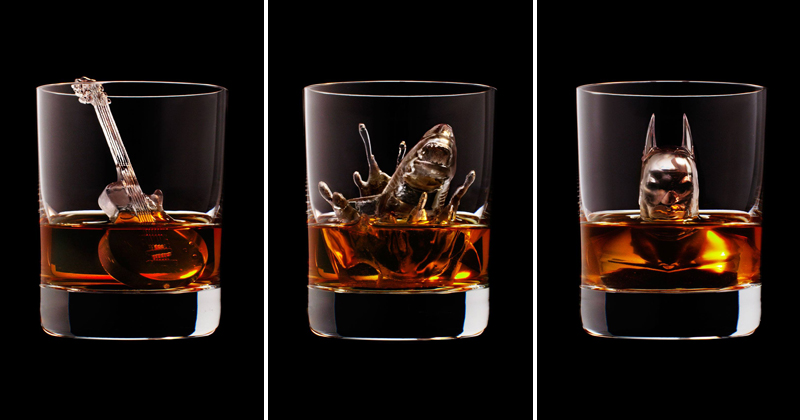 Suntory Whisky CNC Mills 24 of the Coolest Ice Cubes Ever