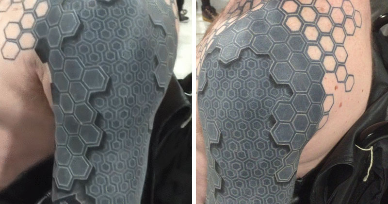 This 3D Arm Tattoo is Melting my Mind