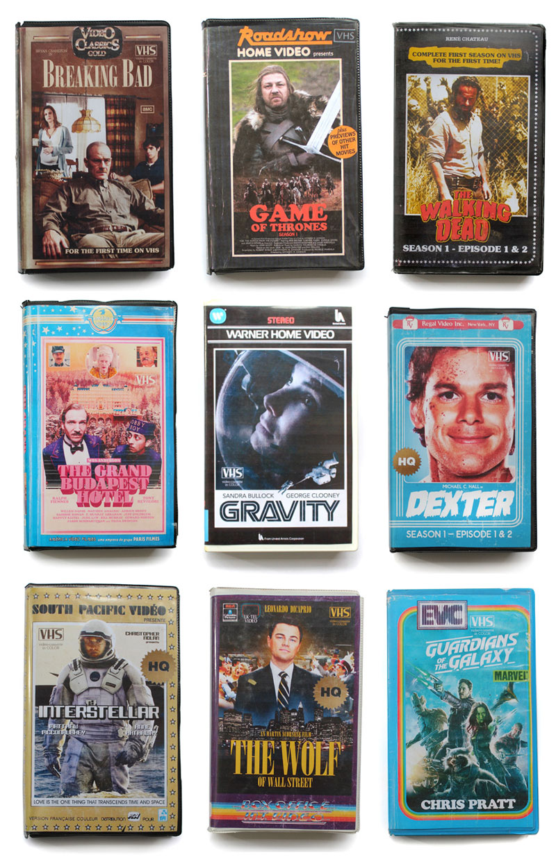 vhs covers of modern movies and tv shows (12)