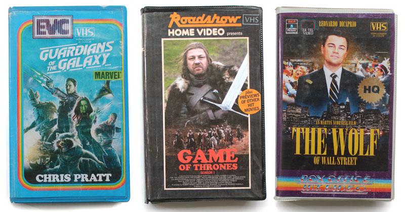 If Modern Favorites Were on VHS