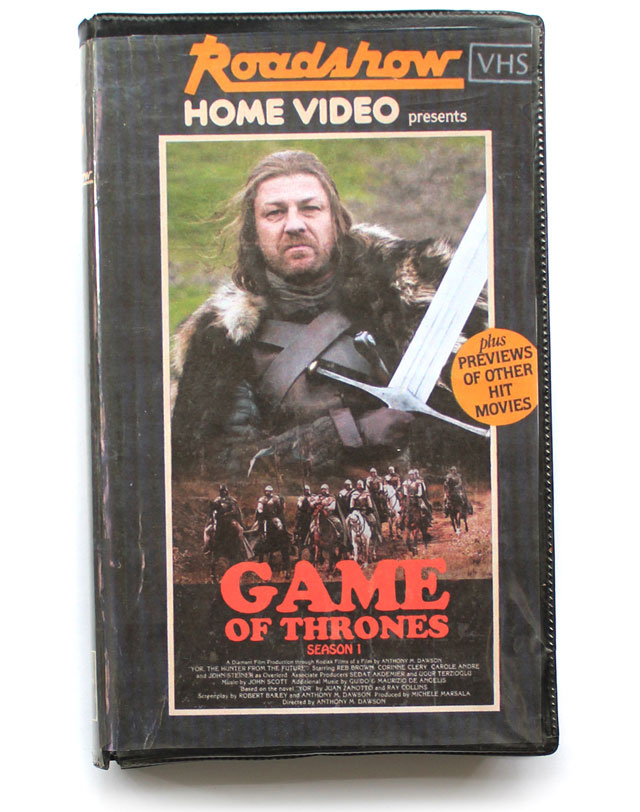 vhs covers of modern movies and tv shows (8)