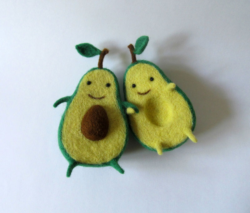 avocado plush toy hugging by hanna dovhan (2)
