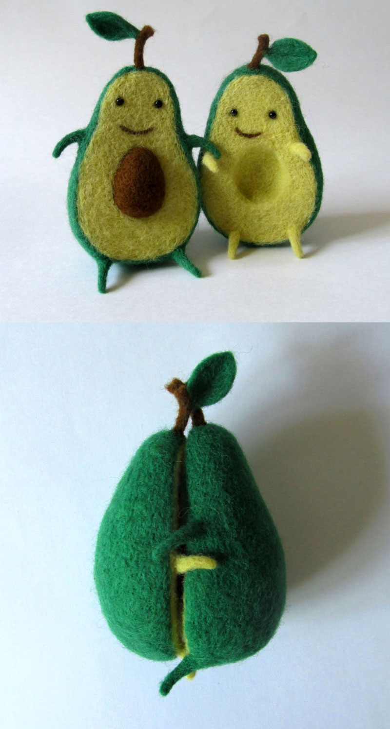 avocado plush toy hugging by hanna dovhan (4)