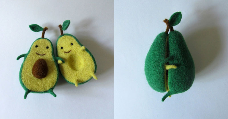 Someone Made an Avocado Plush Toy and It's Adorable