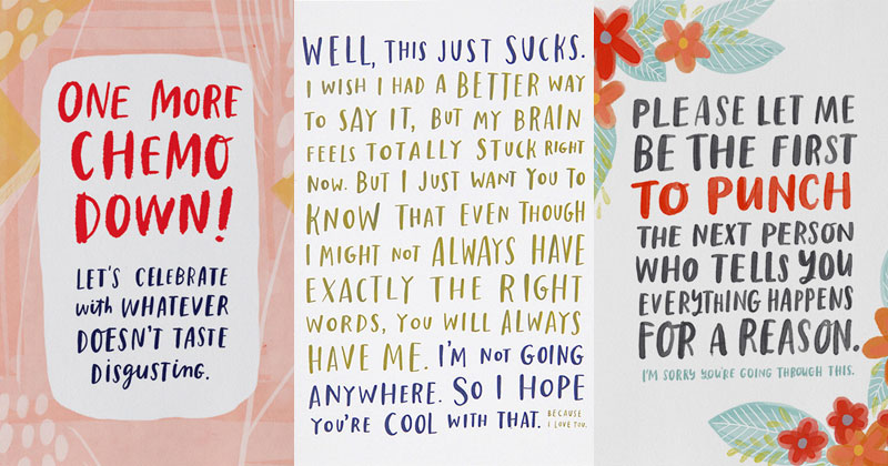 "Cancer Survivor Designs ""Get Well Soon"" Cards That Don't Suck"