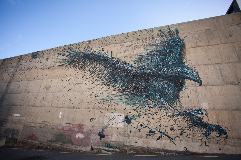 The Incredible Street Art of DALeast (15Photos)