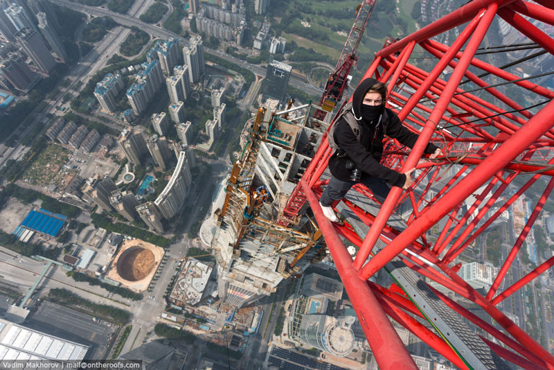 The Daredevils that Scaled Shanghai Tower are Back with an Equally Crazy Climb