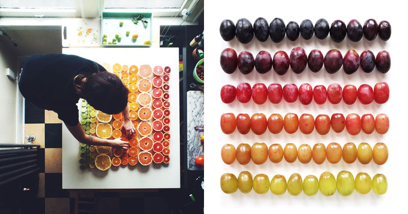 Food Gradients by Brittany Wright