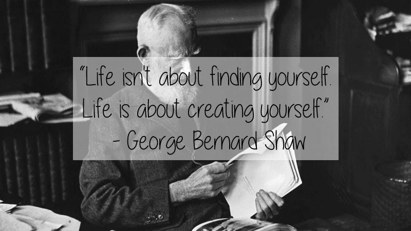george bernard shaw quote 23 Thought Provoking Quotes by Historys Favorite Writers