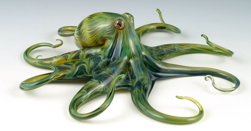 Stunning Glass Blown Animal Sculptures by Scott Bisson
