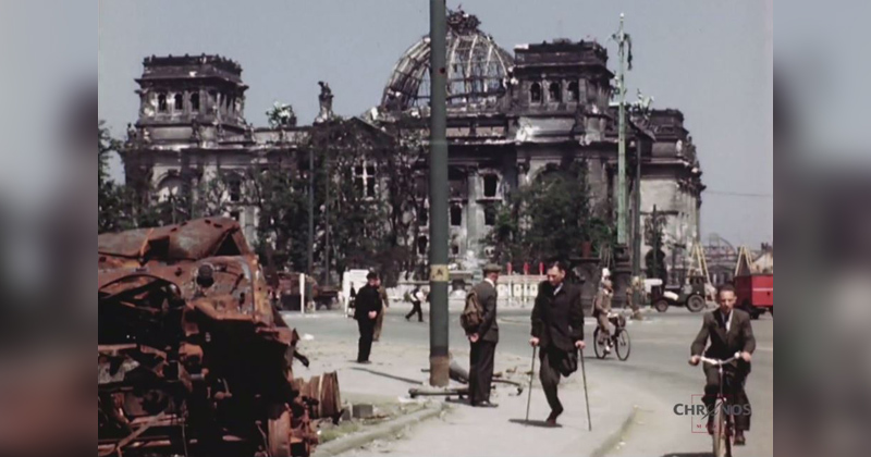 Remarkable HD Footage of Berlin from July 1945