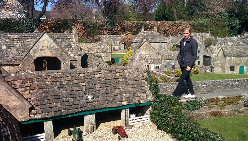 model model model model village bourton-on-the-water cotswold gloucestershire england (3)