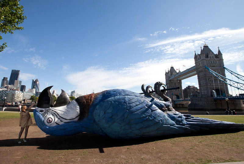 monty python giant dead parrot Picture of the Day: The Monty Python Parrot
