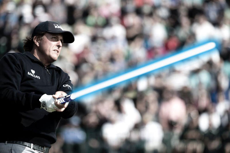 phil mickelson lightsaber