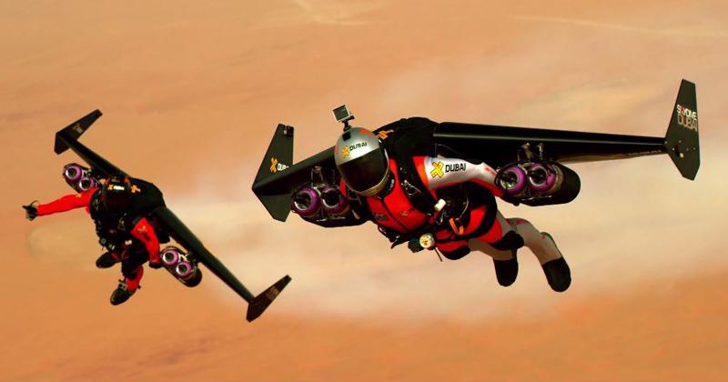 Pushing the Boundaries of Human Flight in the Skies ofDubai
