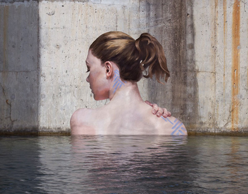street Artist hula Uses Paddleboard to Paint in Hard to Reach Places (4)