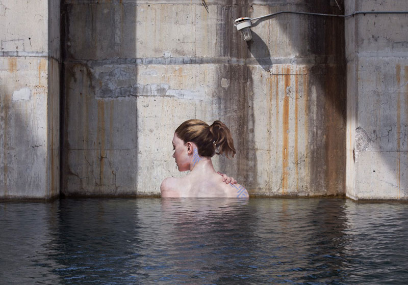 street Artist hula Uses Paddleboard to Paint in Hard to Reach Places (5)