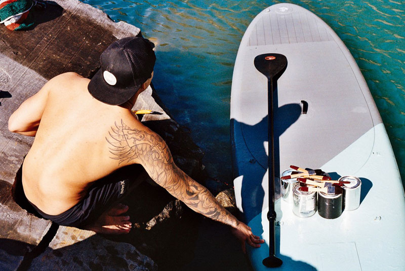 Street Artist Hula Uses Paddleboard To Paint In Hard To Reach Places (6)
