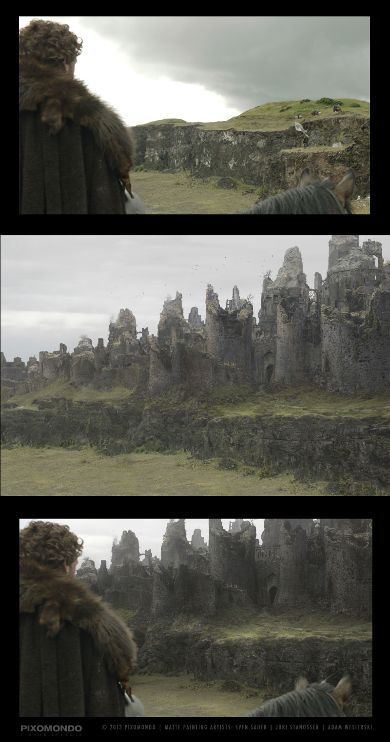 The Digital Artists that Paint the Game of Thrones Landscapes (1)