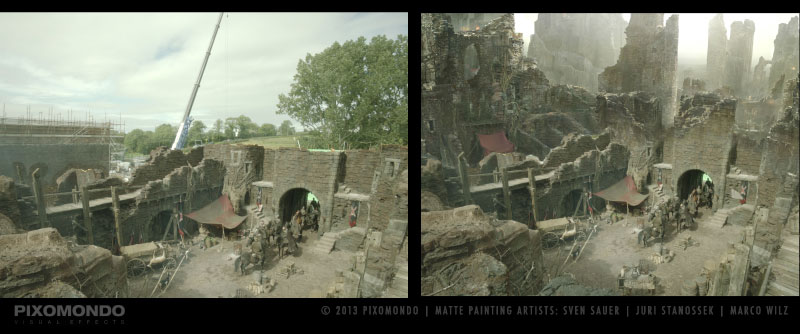 The Digital Artists that Paint the Game of Thrones Landscapes (2)