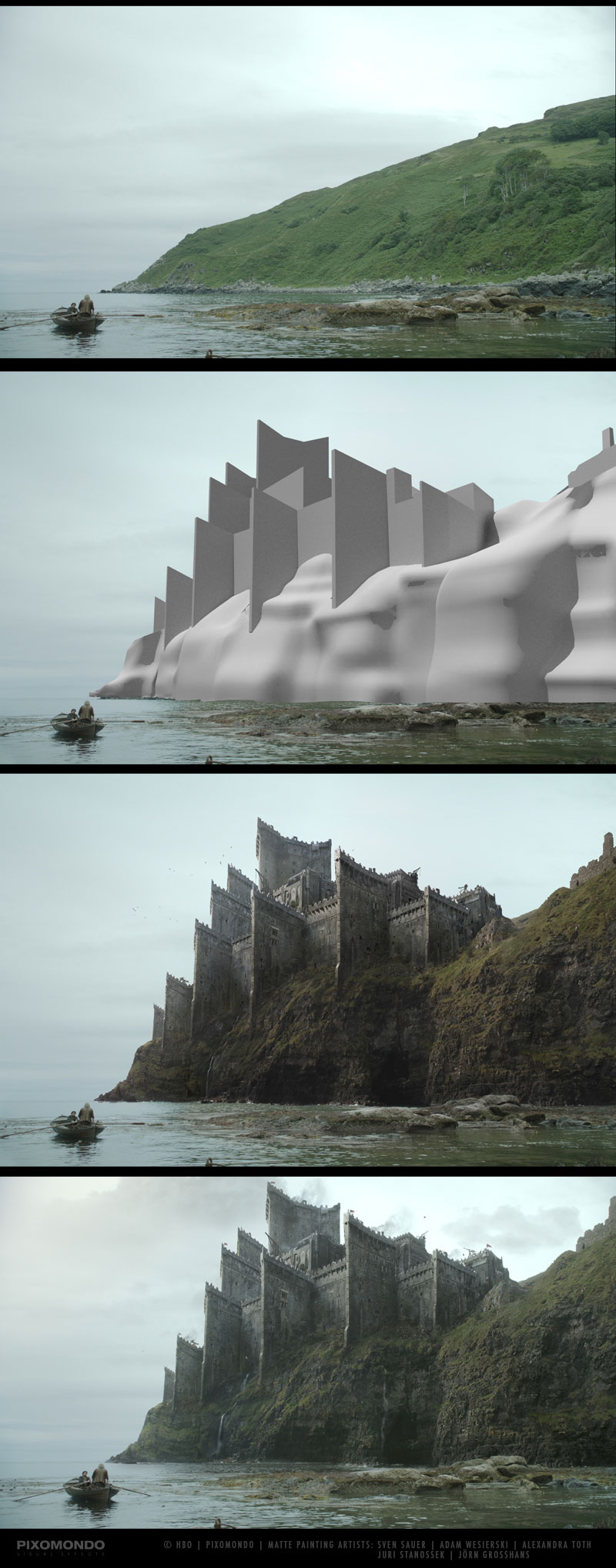 The Digital Artists that Paint the Game of Thrones Landscapes (3)