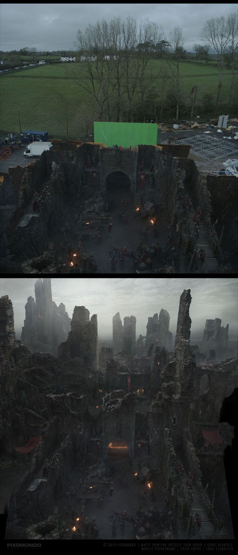 The Digital Artists that Paint the Game of Thrones Landscapes (7)