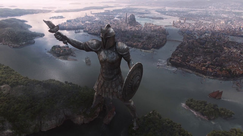 The Digital Artists that Paint the Game of Thrones Landscapes