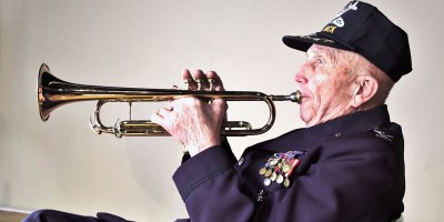 The WWII Vet that Stopped an Enemy Sniper with his Trumpet