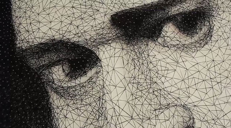 zenyk palagniuk artist justin timberlake portrait thread and nails (7)