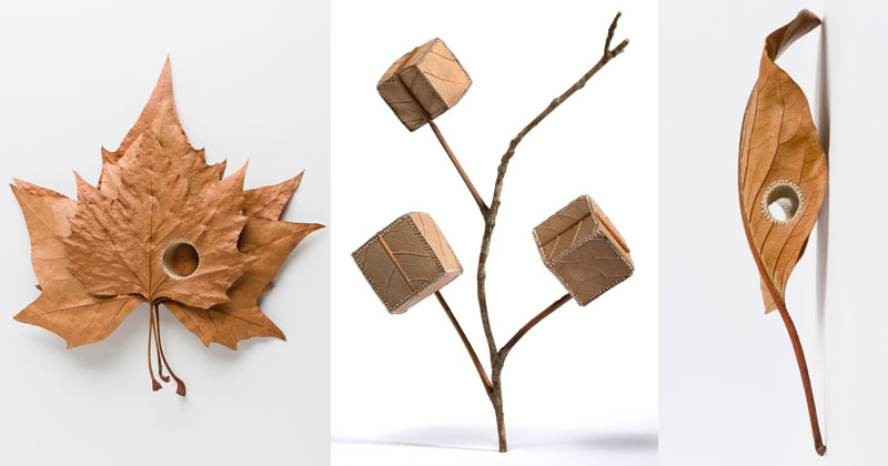 Susanna Bauer Crochets Fallen Leaves Into Amazing 3D Artworks