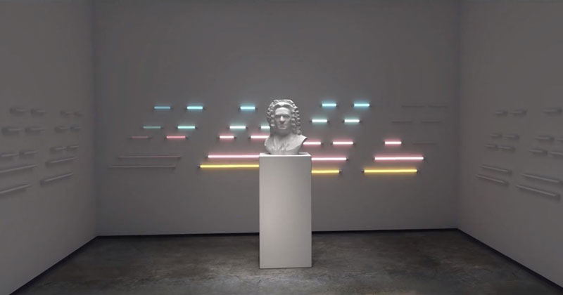 Amazing CGI Light Visuals Set to Johann Sebastian Bach