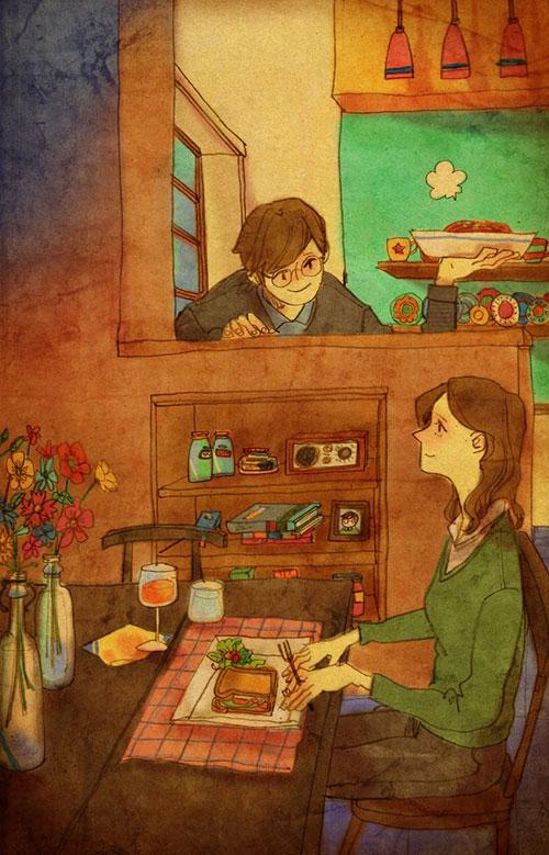 Artist Puuung illustrates What Real Love Looks Like (10)
