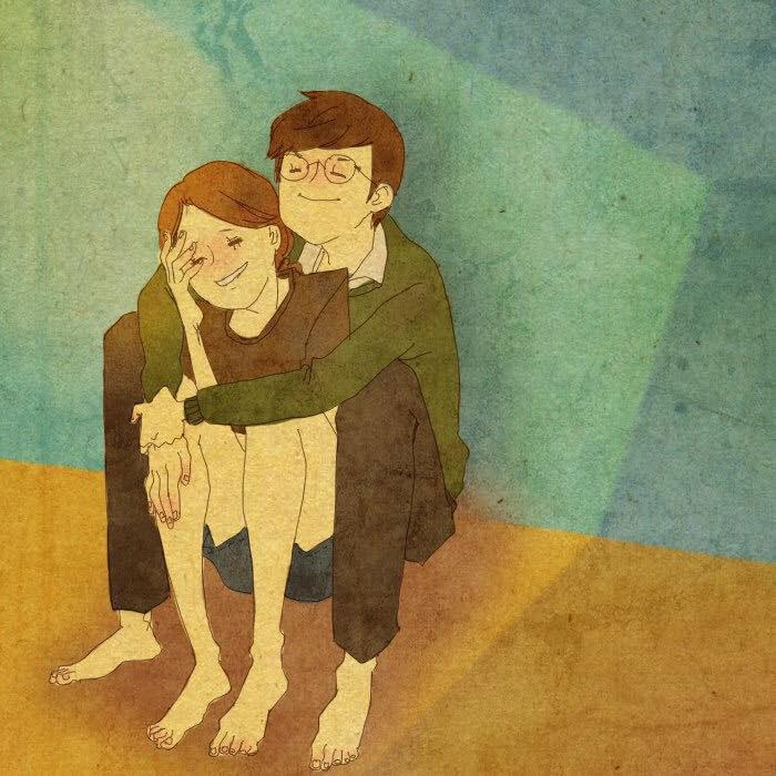 Artist Puuung illustrates What Real Love Looks Like (13)