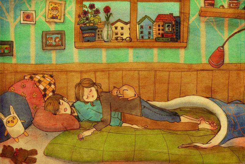Artist Puuung illustrates What Real Love Looks Like (14)