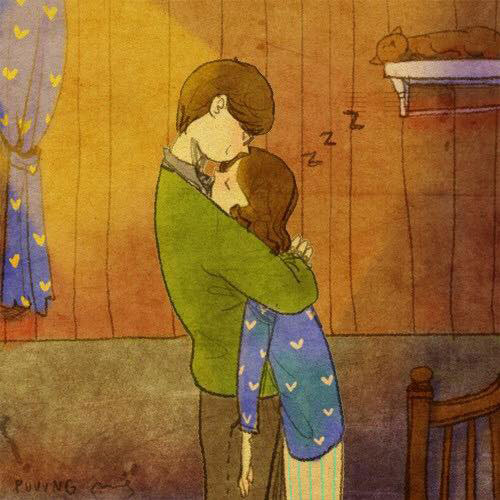 Artist Puuung illustrates What Real Love Looks Like (18)
