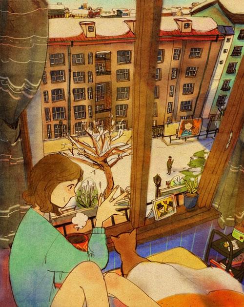 Artist Puuung illustrates What Real Love Looks Like (2)