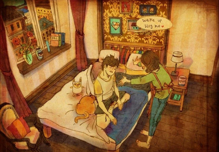 Artist Puuung illustrates What Real Love Looks Like (3)
