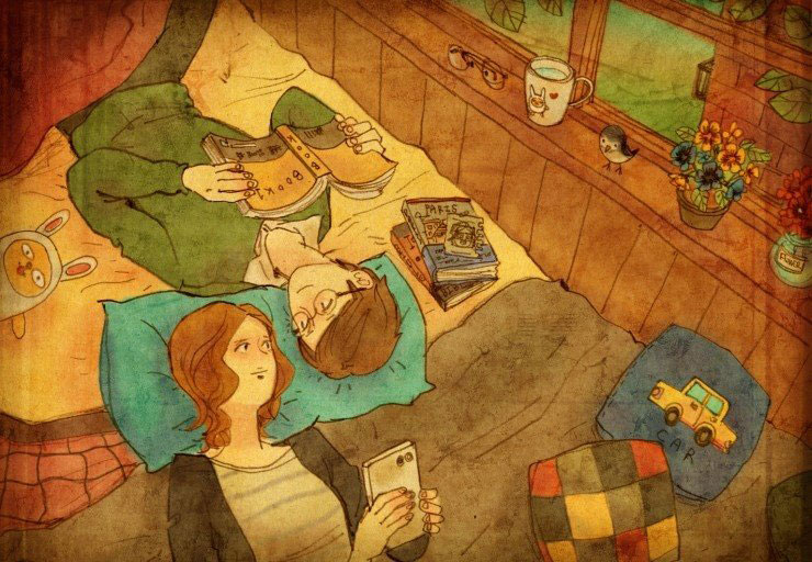 Artist Puuung illustrates What Real Love Looks Like (4)